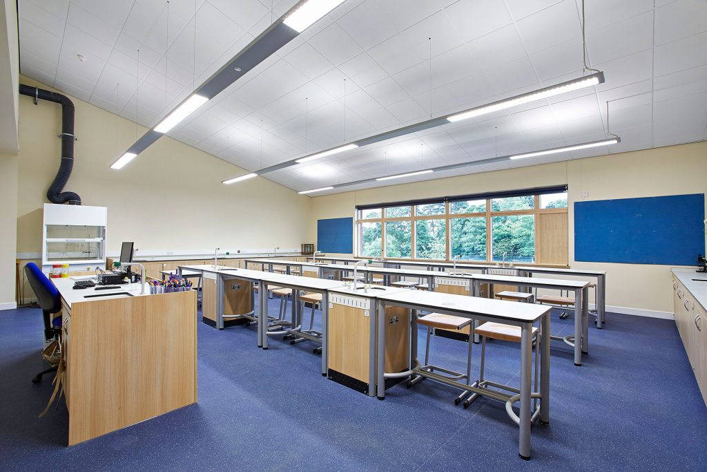 Bewdley Science Lab