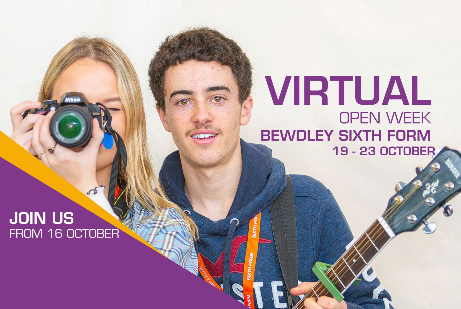 UPDATED SIXTH FORM WEBSITE LANDING PAGE